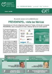 Boletín informativo del Programa Sectorial de PRL nº 2, julio 2005
