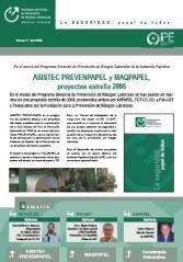 Boletín informativo del Programa Sectorial de PRL nº 5, abril 2006