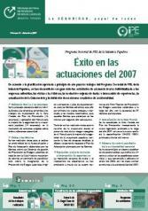 Boletín informativo del Programa Sectorial de PRL nº 10, diciembre 2007