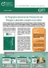 Boletín informativo del Programa Sectorial de PRL nº 11, julio 2008