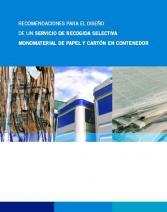 Contenedor azul: Recomendaciones para el diseño de un servicio de recogida selectiva monomaterial de papel y cartón en contenedor