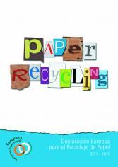 Declaración Europea para el Reciclaje de Papel 2011-2015