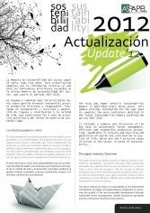 Actualización 2012 Memoria de Sostenibilidad