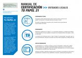 Manual de certificación Tu Papel 21