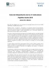 Guía de Interpretación de los 21 Indicadores del Programa Tu Papel 21 para Municipios Urbanos