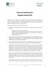 Bases de participación 2018 Programa Tu Papel 21 Municipios
