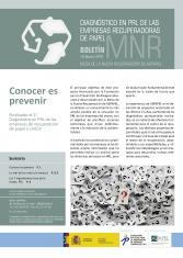 Boletín oct 2018.- Diagnóstico en PRL de las empresas recuperadoras del papel