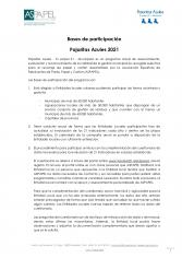 Bases de participación 2021 Pajaritas Azules.